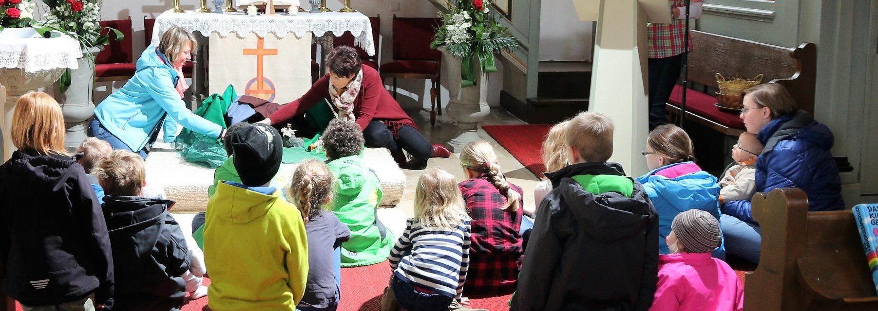 Mit Kindern Glauben entdecken
